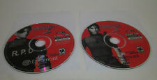 Resident Evil 2 (Sega Dreamcast, 2000) Disc 1 & 2 Nice Shape Tested / Works