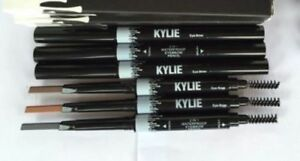 Kylie 2 IN1 Waterproof  Eyebrow definePencil Skinny Brow Double ended with brush