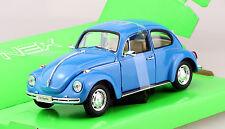 VW Käfer blau 1:24 Welly  Modellauto 22436W