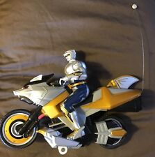 Mighty Morphin Power Rangers RC Motorcycle 2002 Bandai 49 Mhz***BIKE ONLY