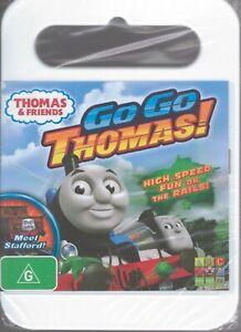 THOMAS & FRIENDS DVD Go Go Thomas! - Region 4 NEW & SEALED 6 Episodes Free Post