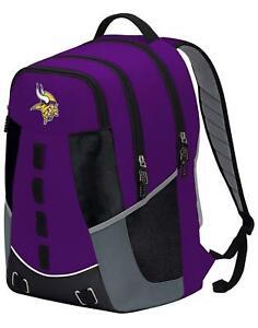 Minnesota Vikings Personnel Backpack Premium Full Size Brand New w/Tags