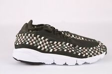 Nike Air Footscape Woven Trainers Green 875797-300 US Mens 10 FREE SHIPPING NEW
