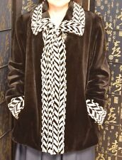 Final Sale!NEW WITHOUT TAG. sheared mink fur jacket.. sz M