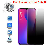For Xiaomi Redmi Note 8 Pro Privacy Anti Spy Tempered Glass Screen Protector SO