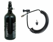 Tippmann 48ci/3000psi Hpa Paintball Tank + Remote Line Coil w/ Quick Disconnect