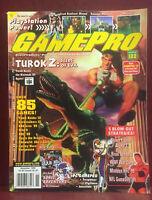 Vintage GAMEPRO Video Game Strategy Magazine November 1998 #122 Turok 2