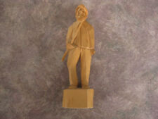 Handmade St-Jean-Port-Joli wood sculpture Excellent condition - Signed