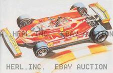 1980 Ferrari Model T5 Gilles Villeneuve car auto  ca 8 x 10 print prent poster