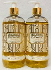 2 Hopificio ROSEWOOD Liquid Hand Soap Wash 16.9 oz