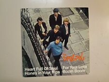 "YARDBIRDS:Heart Full Of Soul-Boom Boom-For Your Love+1-Germany 7"" CBS 5855EP PCV"