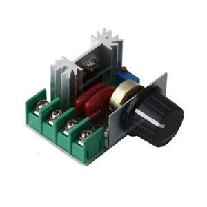 DIY 230V 2000W Dimmer Triac Regler Für Led, Leistung ,Temperature,Motor