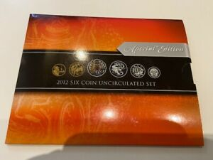 2012 RAM SPECIAL EDITION UNCIRCULATED SET MULTI COLOURED 50 CENT NO 00013654