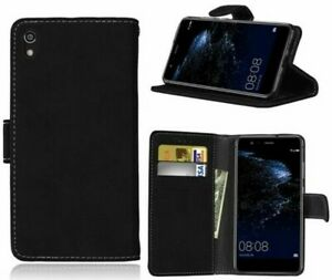 For Huawei P Smart 2019 Phone Case, Cover, Wallet, Slots, PU Leather / Gel