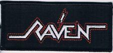 RAVEN logo embroidered patch omen venom obsession