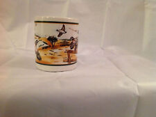 RARE Vintage GAME BIRD Coffee Cup Mug Flying Birds