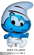 New Unique 1PaysLess Own Balloons Middle Smurfs Birthday Party Balloon …