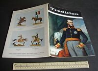 "Vintage 1970s ""Tradition"" #51 Superb Model Soldier & Military History Magazine"
