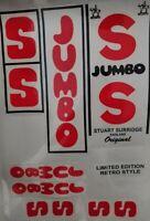 Brand New Superb Quality SS jumbo cricket Bat Stickers Fast Post