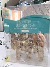 Shimmer Shower Hooks set of 12 Airia Living NIB