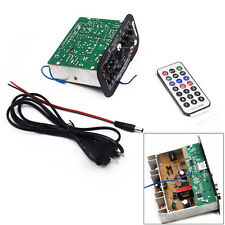 Bluetooth Car Subwoofer Hi-Fi Bass Power Amplifier Board TF USB 12V/24V/220V New