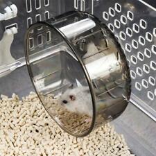 Plastic Silent Running Sturdy Wheel Pet Toy Hamster Mouse Rat Exercise Toys UK