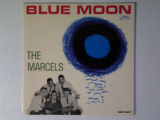 The Marcels EP Blue Moon COLPIX CEP 807 on RED-WAX