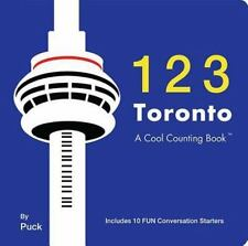 123 Toronto (Cool Counting Books) - LikeNew - Puck - Board book