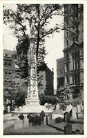 Vintage Postcard - Trinity Church Broadway And Wall Street New York NY #4290
