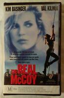 The Real McCoy VHS 1993 Russell Mulcahy Kim Basinger Val Kilmer Roadshow Large