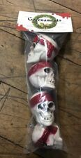 Pirate Skull Christmas Mini Ornaments Four Pack Pirates Of The Caribbean