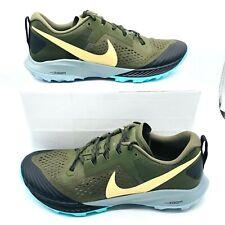 Nike Air Zoom Terra Kiger 5 Olive Trail Running Shoes AQ2219-301 Men's Sz 11.5