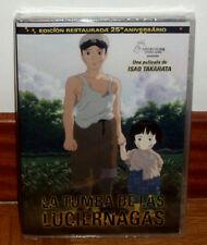 LA TUMBA DE LAS LUCIERNAGAS DVD NUEVO PRECINTADO ANIMACION MANGA (SIN ABRIR) R2
