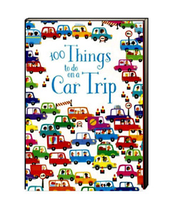 Usborne Puzzle Book Over 100 Things to Do on A Car Trip (Paperback) FREE ship$35