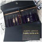 Antique Parke Davis Medical Surgical Set Vial GLASPTIC AMPOULES AMERICAN HISTORY