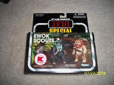 Star Wars Vintage Collection Ewok Scouts MISB Kmart Exclusive