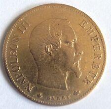 FRANCE - 1860-OR MASSIF Français 10 FRANCS-Paris-KM:784.3 - EF