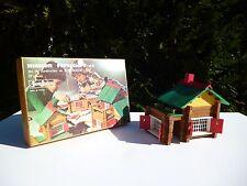 👿 Maison Forestiere N°2 Jeu De Construction En Bois Jeujura 97 Pièces Complet