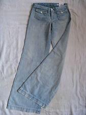 Replay Damen Blue Jeans Schlag Denim W26/L36 low waist regular fit x-flare leg
