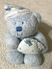 Ty Beanie Baby VGC Baby Boy Sleep Cap Pillow Blue Tush Tag 2006 Height 6.5""
