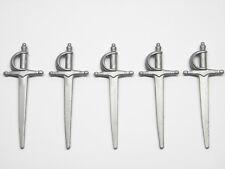 Playmobil Espada Sword Médiévale Pirate Chevalier - Épées Sabres Gris AC1632