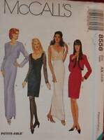 8558 Vintage McCalls SEWING Pattern Misses Dress Bolero Formal Party OOP UNCUT