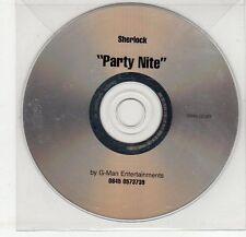 (EG275) Sherlock, Party Nite - DJ CD