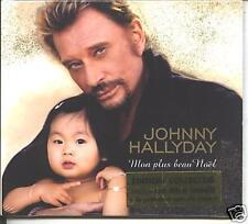 johnny hallyday - mon plus beau noel  maxi cd