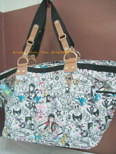 NWT TOKIDOKI Portfortuna Amica Bag Rare LeSportsac Made