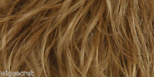 Long Human Hair Blonde Red Straight Monofilament Wig