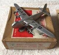 Dinky Supertoy Short Shetland Flying Boat 701. Aircraft Plane Original Boxed