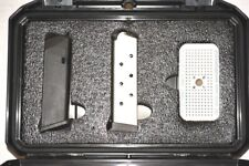 Precut Pistol mag Lid upgrade kit fits your Seahorse 230 Case + 1500D included