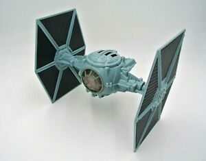 """STAR WARS 1995 POTF 11"""" Blue Imperial Tie-Fighter Vehicle"""