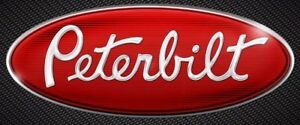 "1PC9""PETERBILT FORD 2004-2014 F150 Front Grille Tailgate Emblem Oval  Badge LOGO"